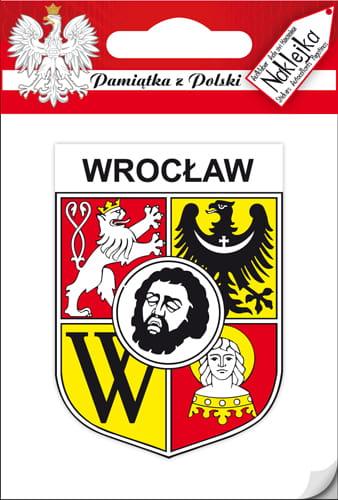 102caae6f06f3 Naklejka pojedyncza - herb - Wrocław Pamiątki z Polski | Souvenirs ...
